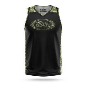 Fairtex black camo panel jersey