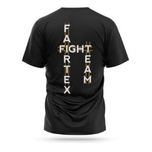 Fairtex fight team t-shirt 2021 black gold