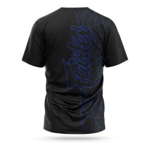 Fairtex Lamborghini sport t-shirt black blue