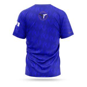 Fairtex sport t-shirt pattern blue