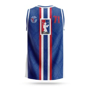 Fairtex Muay-Thai NBA jersey blue