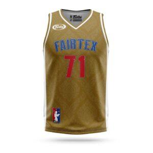 Fairtex Muay-Thai NBA jersey brown