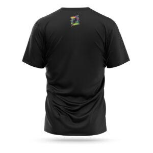 Fairtex Tie-dye sport t-shirt black