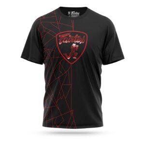 Fairtex Lamborghini sport t-shirt red