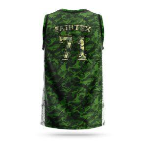 Fairtex jersey full camouflage green
