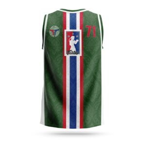 Fairtex Muay-Thai NBA jersey green