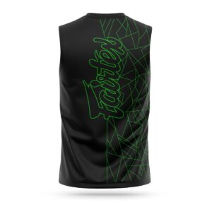 Fairtex sleeveless Lamborghini sport t-shirt green