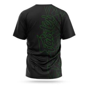 Fairtex Lamborghini sport t-shirt black green