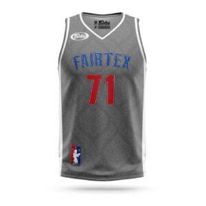 Fairtex Muay-Thai NBA jersey gray