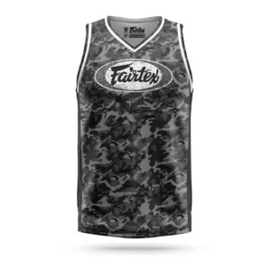 Fairtex jersey full camouflage gray