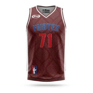 Fairtex Muay-Thai NBA jersey maroon