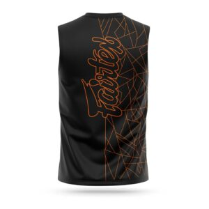 Fairtex sleeveless Lamborghini sport t-shirt orange