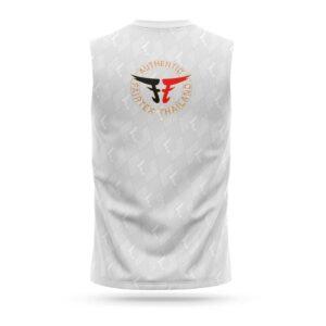Fairtex sleeveless sport t-shirt pattern white