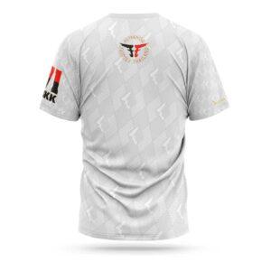 Fairtex sport t-shirt pattern white