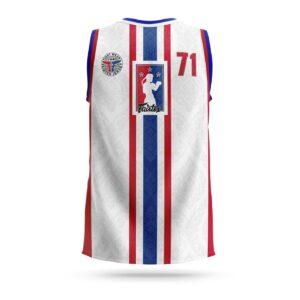 Fairtex Muay-Thai NBA jersey white
