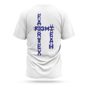 Fairtex fight team t-shirt 2021 white blue