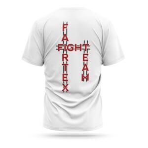 Fairtex fight team t-shirt 2021 white red