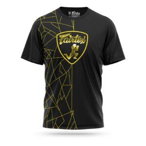 Fairtex Lamborghini sport t-shirt black yellow