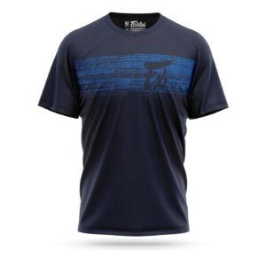 Fairtex t-shirt plastered blue