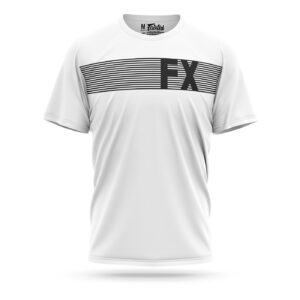 Fairtex FX t-shirt striped white